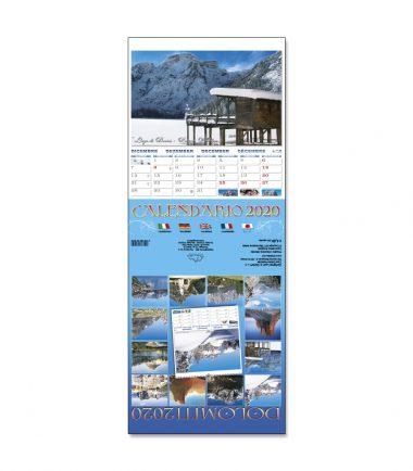 Calendario Segnalibro 17,0x17,5 cm